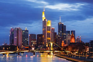Frankfurt Skyline 2 by Nightline