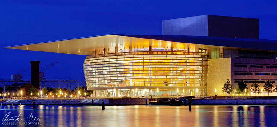 Copenhagen Opera House by Nightline