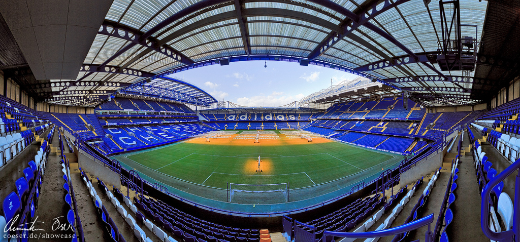 Stadium Stamford Bridge London by Nightline