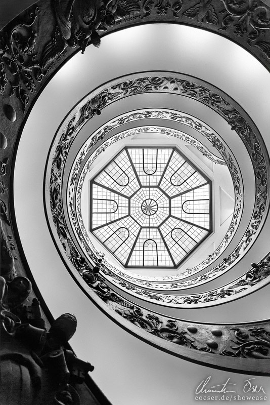 Vatican Stairs 2 by Nightline