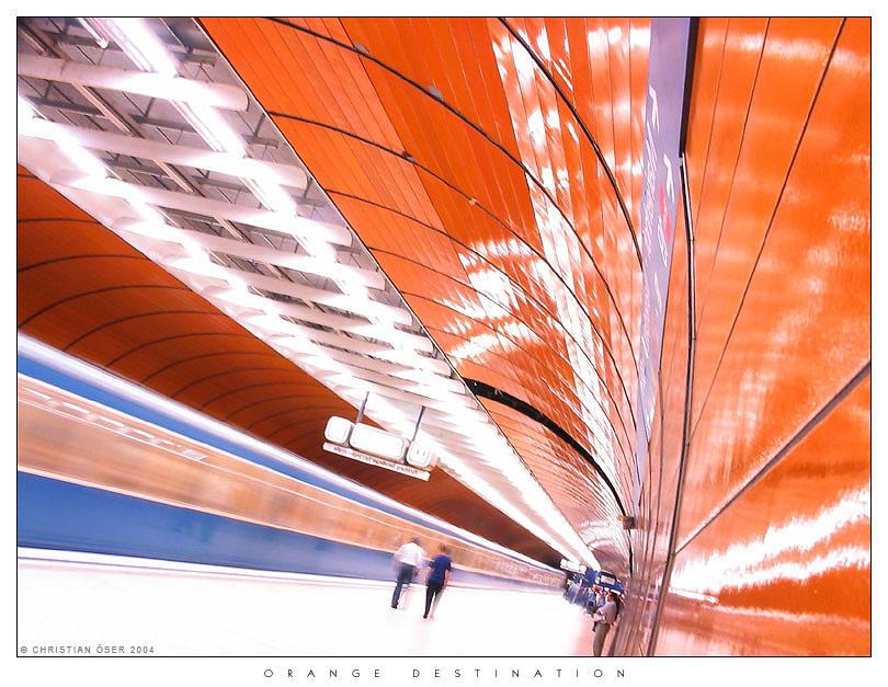 Orange Destination by Nightline