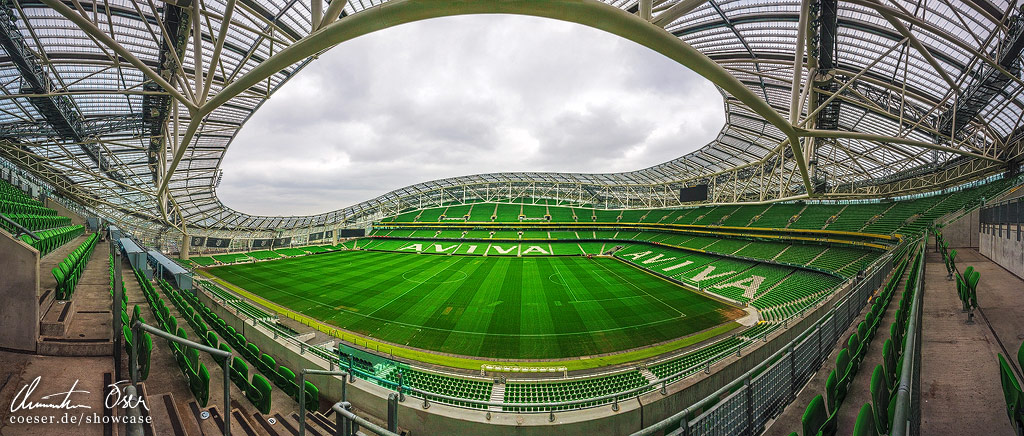 Aviva Stadium by Nightline