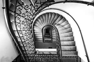 Vienna Staircase 13 by Nightline