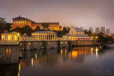 Philadelphia Museum Of Art by Nightline