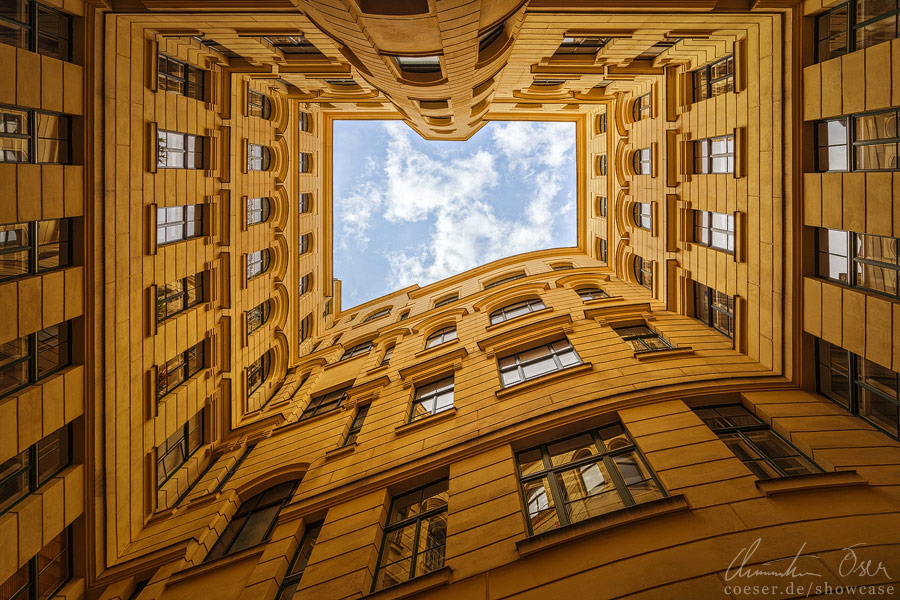 Vienna Courtyard by Nightline