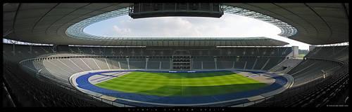 Olympia Stadium Berlin by Nightline