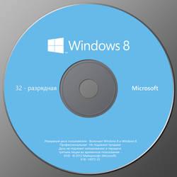 Windows 8 Pro backup disc 32-bit by Nickmix01