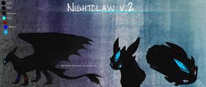 Ref. Sheet : Nightclaw v.2