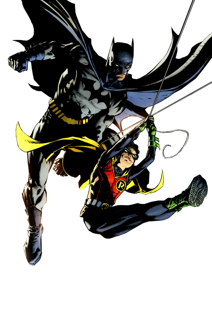 Batman And Robin Render by RatedrCarlos