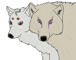 Orochimaru and Kimimaro. Wolfs by SofiaHaase
