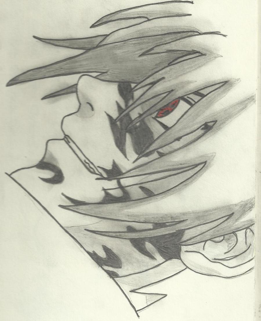 Sasuke and his curse mark by SofiaHaase on DeviantArt
