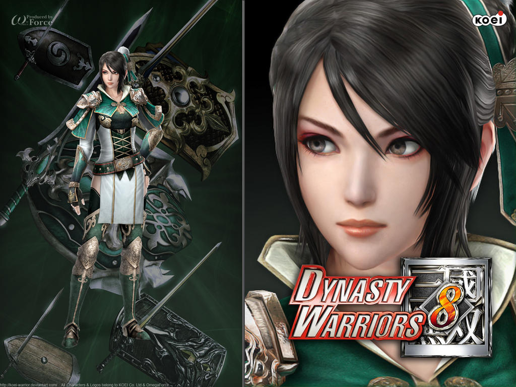 DW8 Wallpaper - Diao Chan by Koei-Warrior on DeviantArt