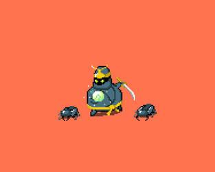 Overweighted Beetle Ninja.