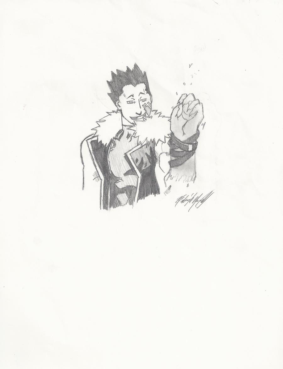 how to draw greed fullmetal alchemist