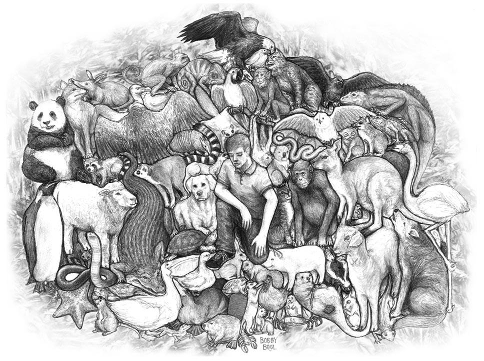 Interlocking Creatures by BobbyBobby85