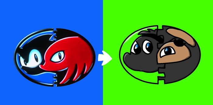 Sonic  Knuckles to Stripe Pea  Potato Min