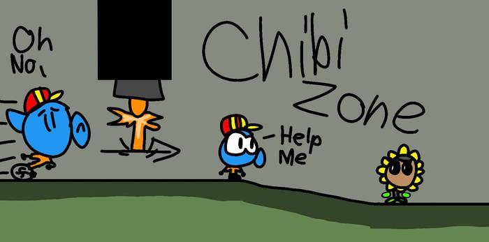 Danshooter becomes Small Chibi