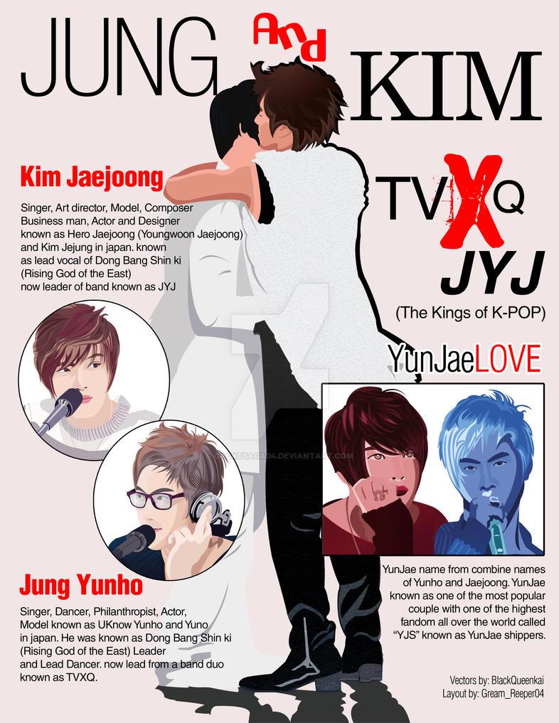 Jung and Kim - Yunjae Project by gacktsaga04
