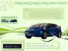 Hybrid Car Web Interface