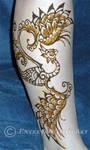 Henna Pheonix - Paste by flowerwills