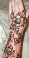 Flower Arm Henna