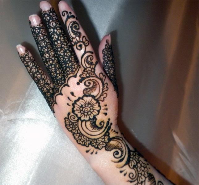 Henna Hand - Masala Hands by flowerwills