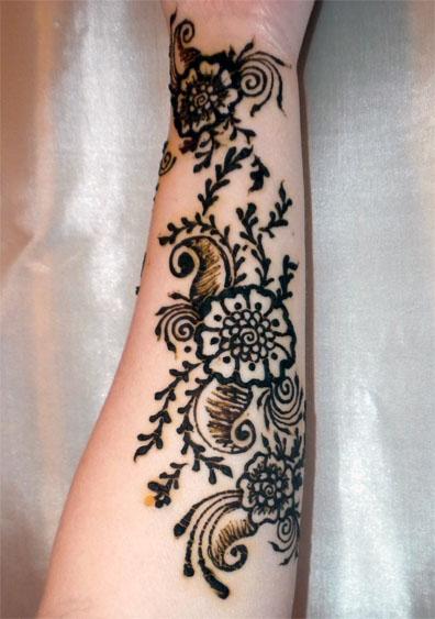 Lower Arm Henna Tattoo: Masala Inspired By Flowerwills On DeviantArt