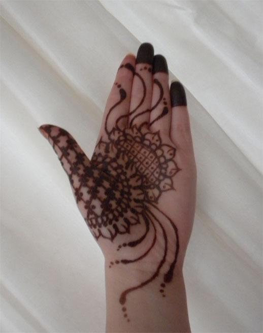 Sunflower Henna Tattoo: Sunflower Palm Henna Stain By Flowerwills On DeviantArt