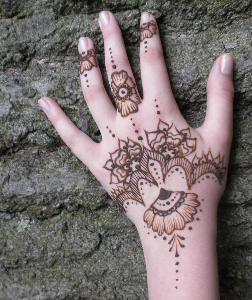 Moon Henna Patterns | makedes.com
