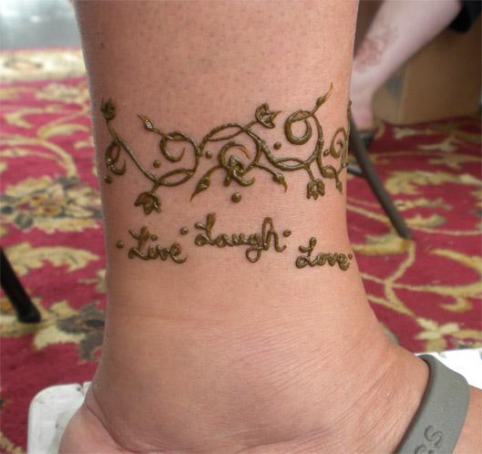 Live Laugh Love Henna by flowerwills