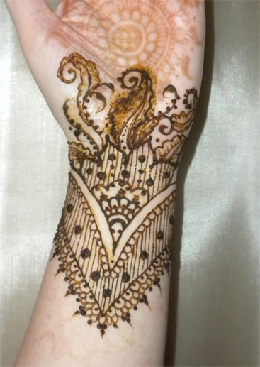 Henna Flower Wrist Tattoos: Henna Wrist Flower Bracelet By Flowerwills On DeviantArt