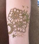 Henna Sun N Moon Arm