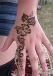 Henna Hibiscus Hand