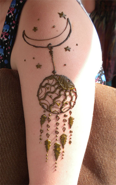 Dream Catcher Henna Tattoo Designs: Henna Sun Dreamcatcher By Flowerwills On DeviantArt