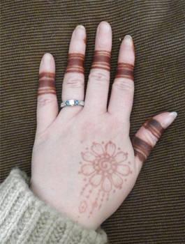 Henna Finger Bands