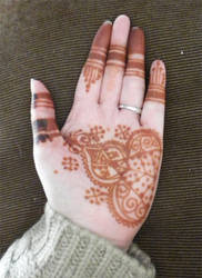 Henna Moroccan inspired style