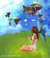 Peaceful Sky by se-bas