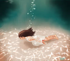 Flowing Underwater by se-bas