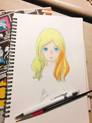 My drawing :) by Hajimeramiezu