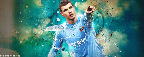Edin Dzeko by ElbaKMGraphic