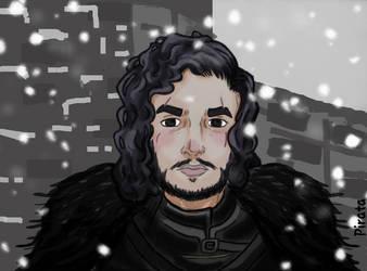 - Jon Snow - by Pirata-kun
