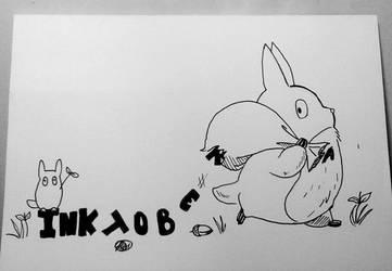 Inktober X Studio Ghibli Day 1/31 by Pirata-kun