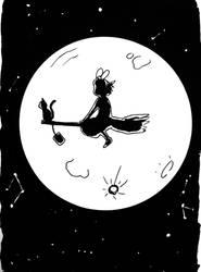 Inktober X Studio Ghibli Day 6/31 by Pirata-kun
