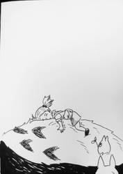 Inktober X Studio Ghibli Day 7/31 by Pirata-kun