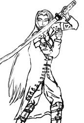 Female Sephiroth by Nammah