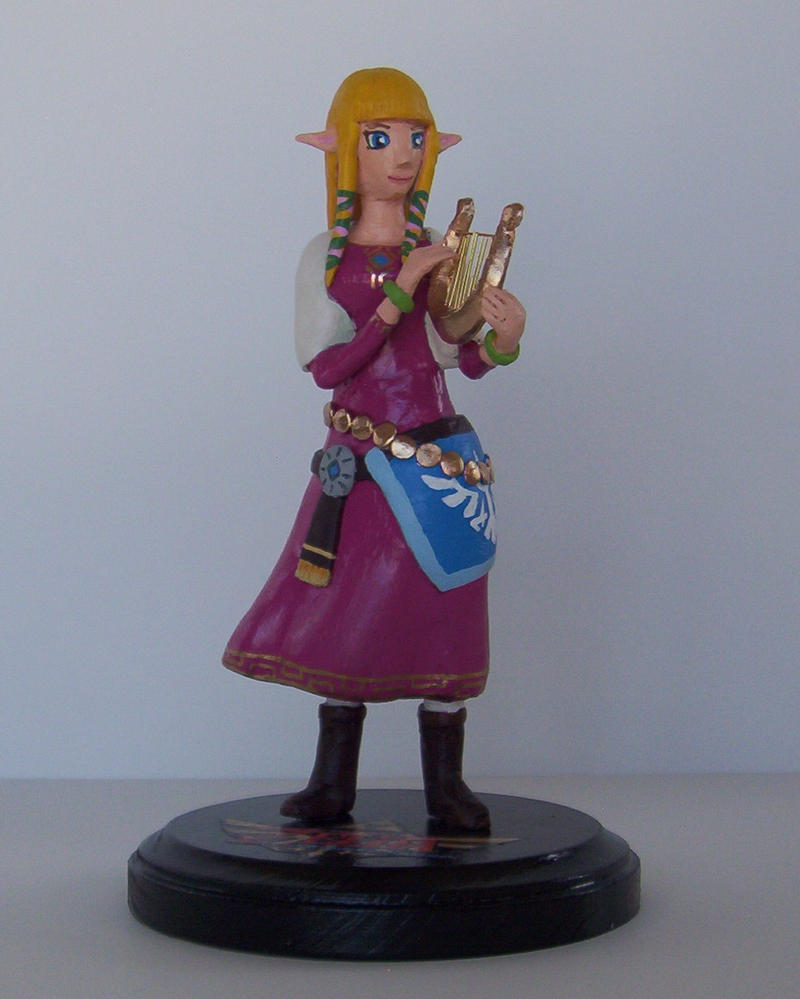 Skyward Sword Zelda by LNERA4