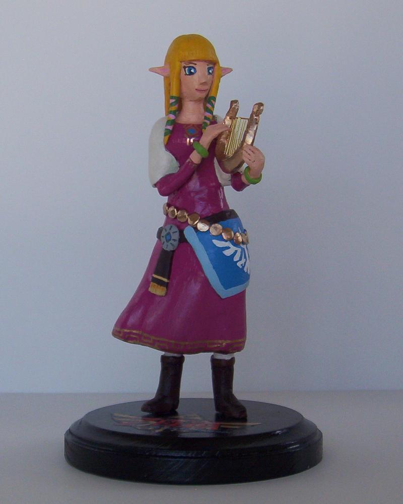 Skyward Sword Zelda by LNERA4