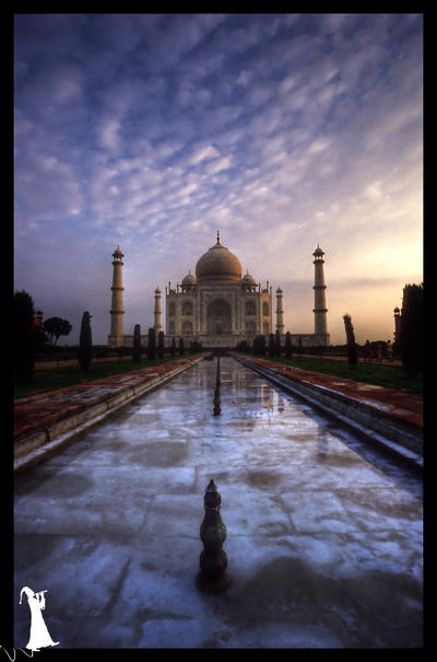 India - 1 - The Taj by MalcomX