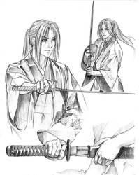 20160206 Sketch Hijikata Toshizo