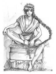 20160807 Sketch Aladdin